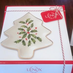 New Lenox Tree Party Plate